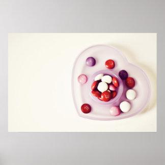 Candy love print