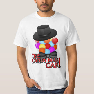 Candy Man Can - Classy Gumball Machine T-Shirt