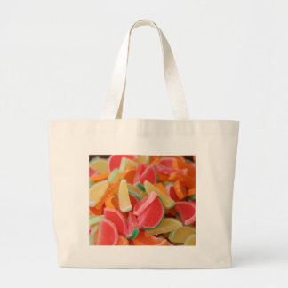 Candy orange slices canvas bags