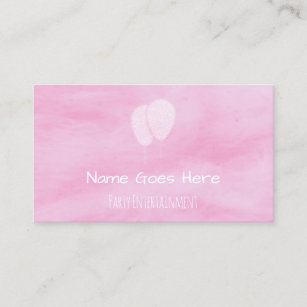 Childrens entertainer business cards zazzle uk candy party entertainer business cards colourmoves