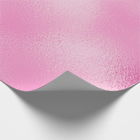 Candy Pastel Pink Rose Glass Ice Glam Wrapping