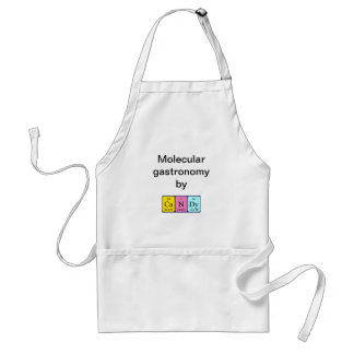 Candy periodic table name apron