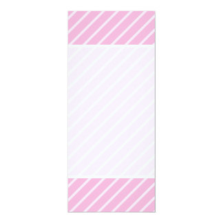Candy Pink Diagonal Striped Pattern. Card