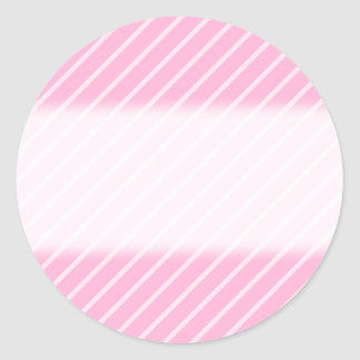 Candy Pink Diagonal Striped Pattern. Stickers