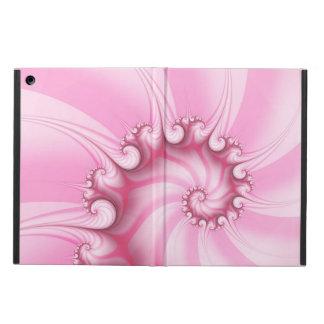 Candy Pink Spiral Fractal iPad Air Case