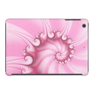 Candy Pink Spiral Fractal  iPad mini Case