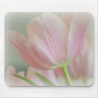 Candy Pink Tulip Mouse Mat