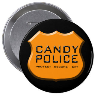 Candy Police Badge