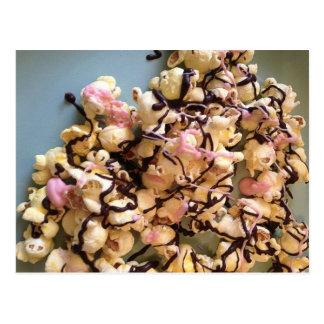 Candy Popcorn Postcard