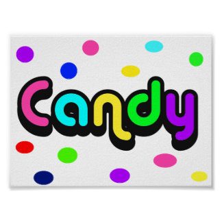Candy-poster Poster