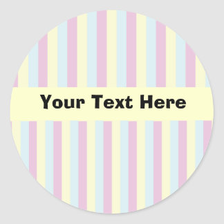 Candy Rainbow Customisable Stickers