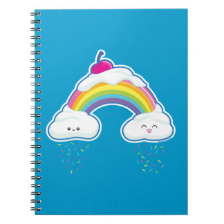 Candy Rainbow Spiral Notebook
