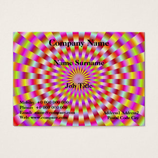 Candy Rings Business Card