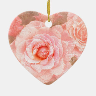 Candy roses christmas ornament