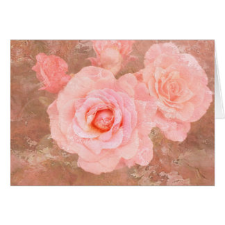 Candy roses greeting card
