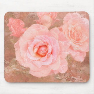 Candy roses mouse pad