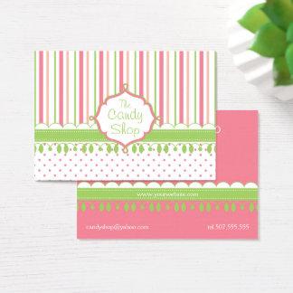 Candy Shop Custom Chubby Business Card