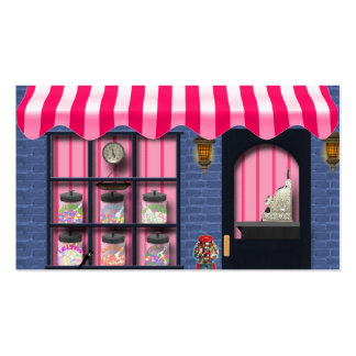 Candy Shoppe Fun Business Cards