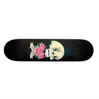 candy skull skater skateboard