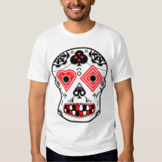 Candy Skull T Shirts