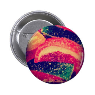 Candy Slices Food Photography by Angelandspot 6 Cm Round Badge