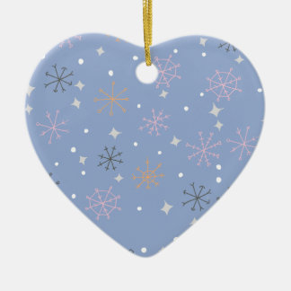 Candy snowflakes christmas ornament
