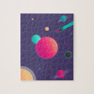 Candy Space Jigsaw Puzzle