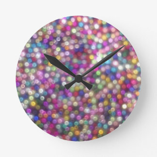 Candy Sparkle Wall Clock