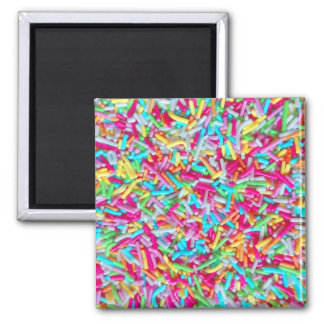 Candy Sprinkle Pattern Magnet