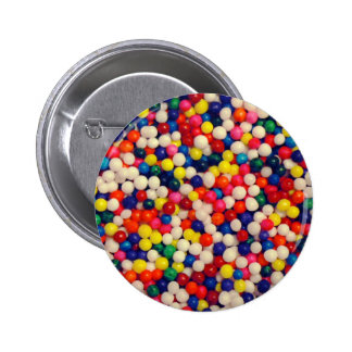 Candy Sprinkles 6 Cm Round Badge