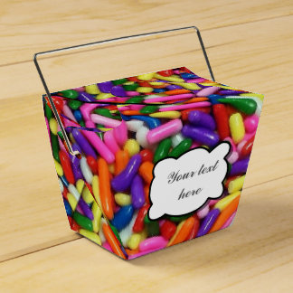 Candy Sprinkles Favour Box