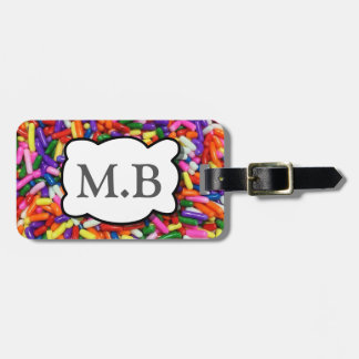 Candy Sprinkles Luggage Tags