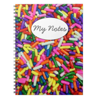 Candy Sprinkles Notebook