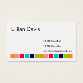 Candy Squares Business Card