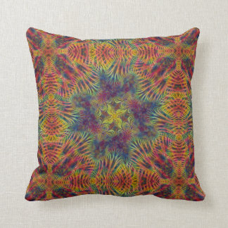 Candy Star  Throw Pillow