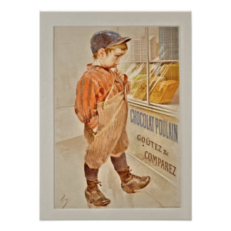 Candy Store Boy Poster