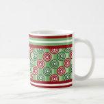 Candy Stripe and Pop Dots Holiday Mug