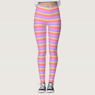Candy Stripe Leggings