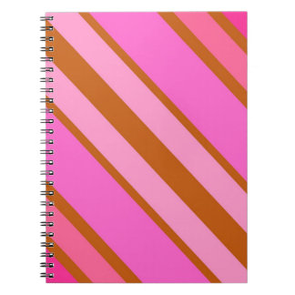 Candy Stripe Notebook