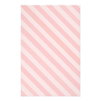 Candy Stripe Pink on Pink Stationary Stationery