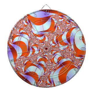 Candy Stripe Roots Dartboard