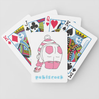 Candy Stripe Seaglass Multi Bicycle Playing Cards