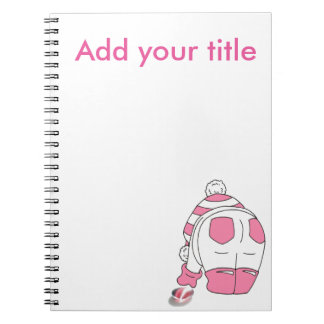Candy Stripe Seaglass Multi Spiral Notebook