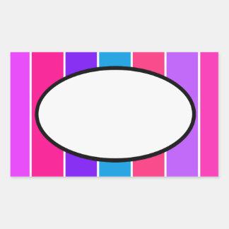 Candy Stripe Sticker