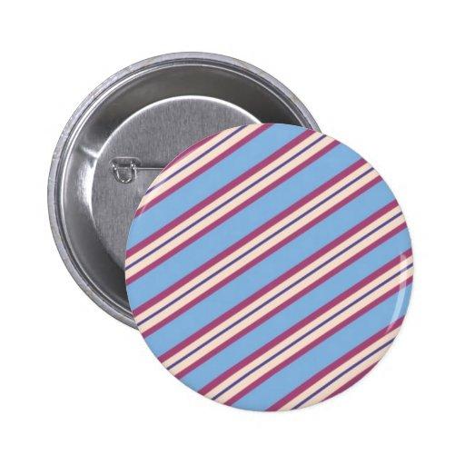 Candy Stripes: Blueberries 'n Cream Pins