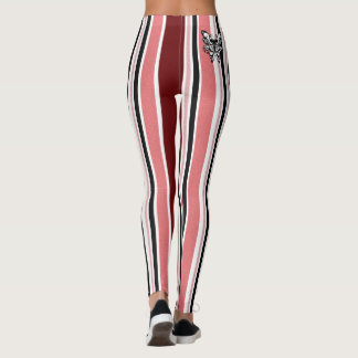 Candy Stripes & butterfly Leggings