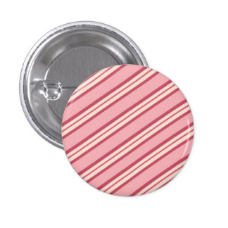 Candy Stripes: Peppermint 3 Cm Round Badge