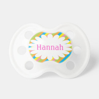 Candy Stripes Personalized Pacifier