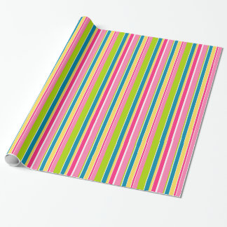 Candy Stripes Wrapping Paper