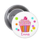 Candy Surprise Cupcake 6 Cm Round Badge
